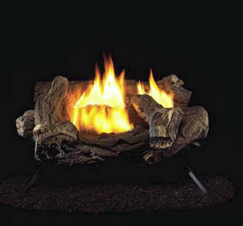 Ventless Fireplace Gas Logs by Hearth Master Hickory Ventless Gas Logs Manual