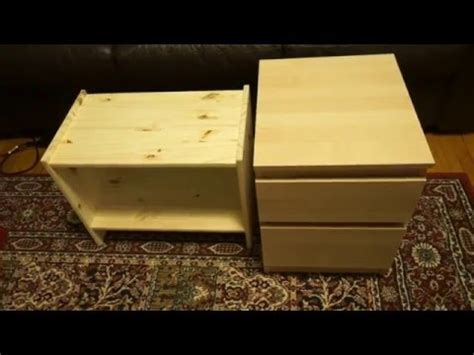 kullen nightstand ikea rast nightstand versus kullen chest youtube