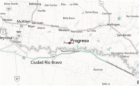 progreso texas map progreso texas location guide