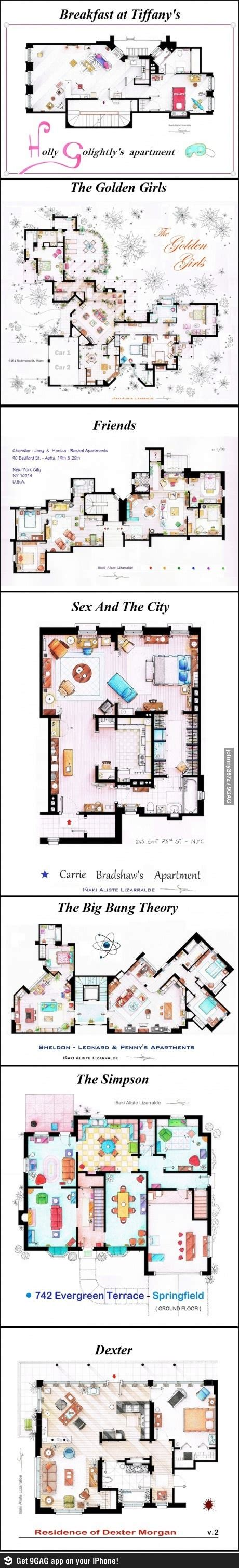 the golden girls floor plan 1000 images about tv home plans on pinterest the golden