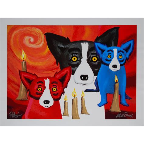 george rodrigue blue george rodigue blue calendar 2013 2015 personal