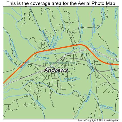 andrew map aerial photography map of nc carolina