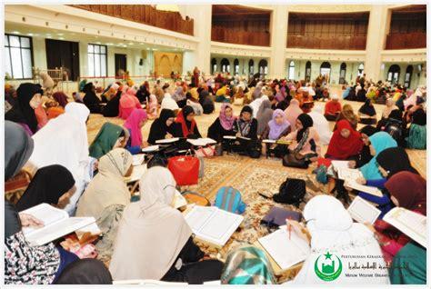 Islam Jalan Tengah By Dr Yusuf Qardhawi Original perkim lebih 700 saudara muslim sertai tadarus perkim