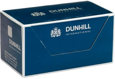Dunhill International Menthol 20 dunhill international menthol box cigarettes made in switzerland 3 cartons 30 packs free