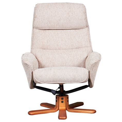 swivel chair fabric alizza fabric swivel recliner chair and footstool next
