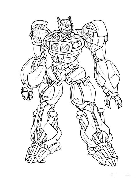 Printable Transformer Coloring Pages Me