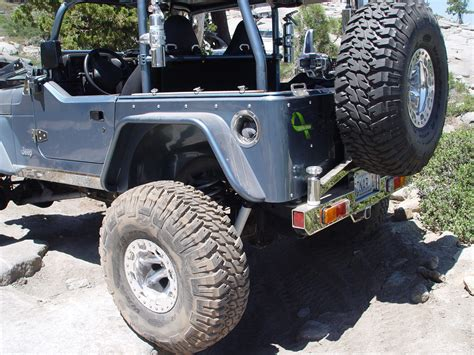 Jeep Tj Fender Jeep Tj Fender Flares W Corner Guards 6 Inch Flare 97 06