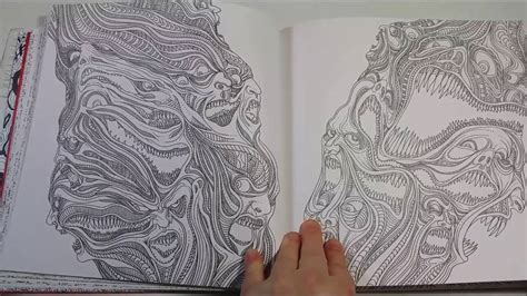 the of horror a goregeous coloring book the of horror a goregeous coloring book