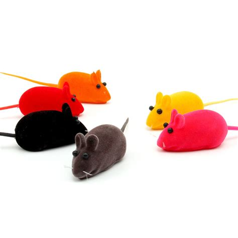cute dog products colorful cute pet supplies five package pet mouse voice