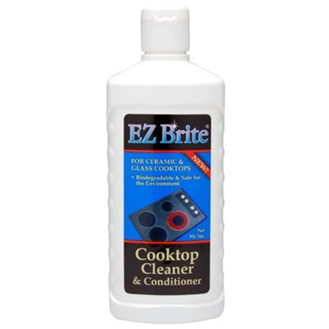 glass ceramic cooktop cleaner ez brite glass ceramic cooktop cleaner conditioner
