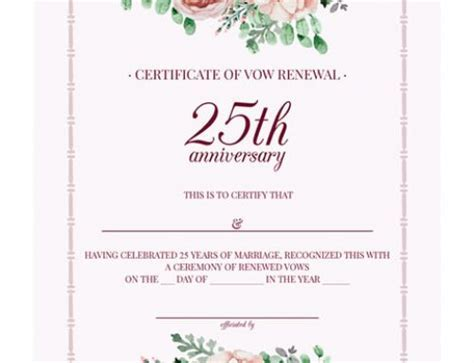Vow Renewal Theme Ideas for a 25th Wedding Anniversary