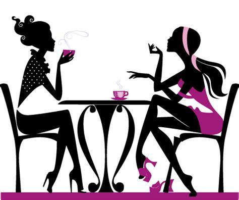 imagenes animadas tomando cafe chicas tomando caf 233 2 imagen vectorial mujer compras