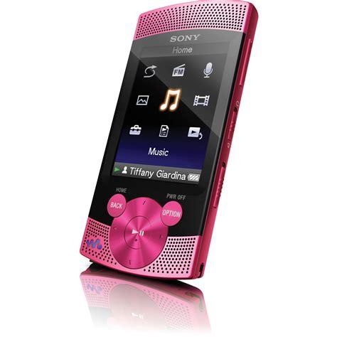 pink mp3 sony nwz s544 8gb s series walkman video mp3 player nwz