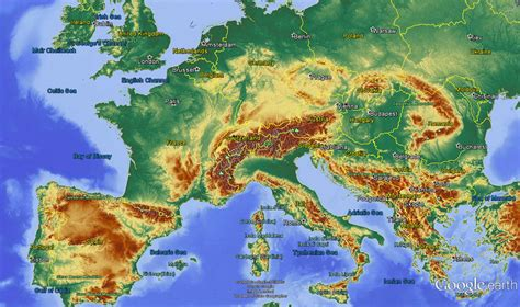 earth map relief maps in earth g 233 ophysique be