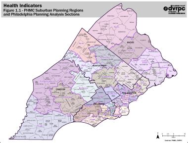 zip code map delaware county pa dvrpc gt healthy communities planning gt heatlh data snapshot