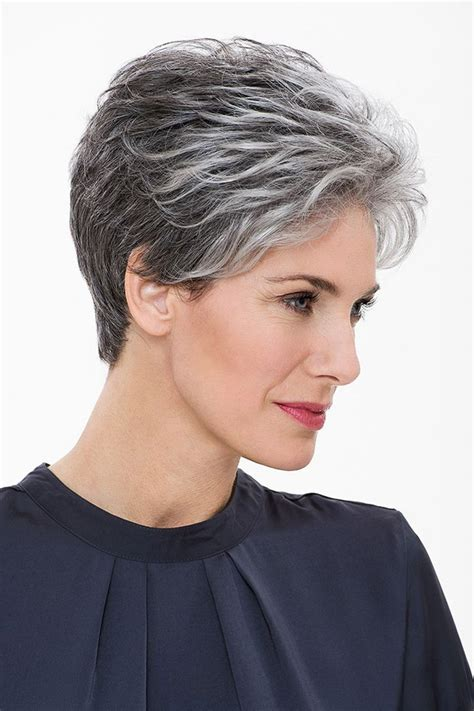 short salt and pepper hair image result for salt and pepper hair women hair cuts