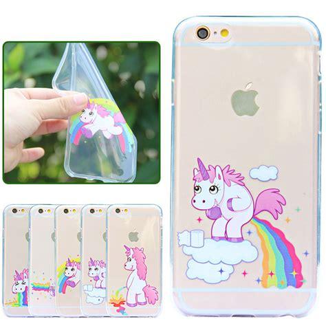 Diskon A Iphone 6 Plus 5 5 Soft Jelly unicorn for iphone 6 plus 6s plus 5 5 soft tpu
