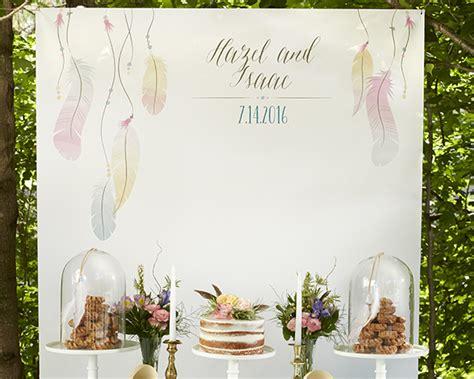 Wedding Backdrop Design Hong Kong by Personalized Photo Backdrop Boho Kate Aspen