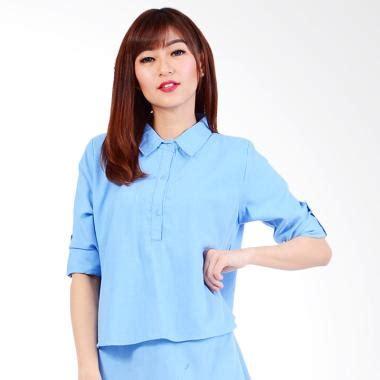Pakaian Atasan Wanita Pinata Tunik Kemeja Blouse jual daily deals jfashion tunik kemeja tangan panjang