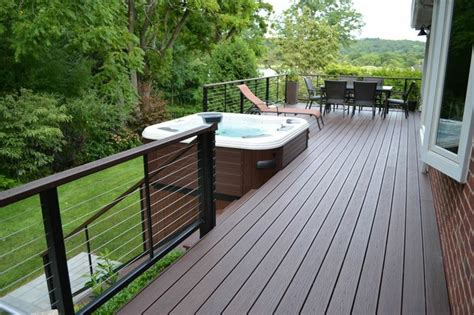 The Deck And Patio Company by Deck Railings Modern Deck Other Metro By Deck And