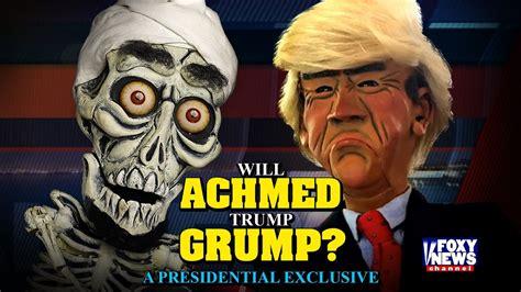 jeff dunham fan will achmed grump an exclusive presidential