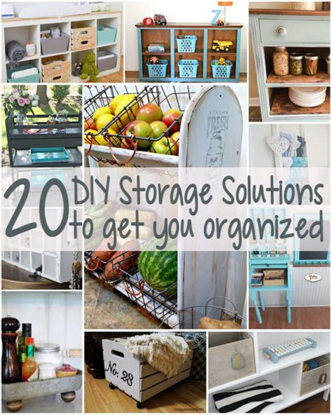 creative storage solutions 20 diy storage solutions gydo features artsy chicks rule 174