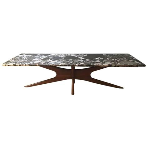 adrian pearsall style marble coffee table for sale at 1stdibs