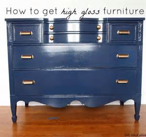 black door high gloss dresser tutorial