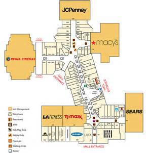 mall of store map directory southland mall
