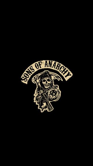 sons  anarchy iphone  wallpaper