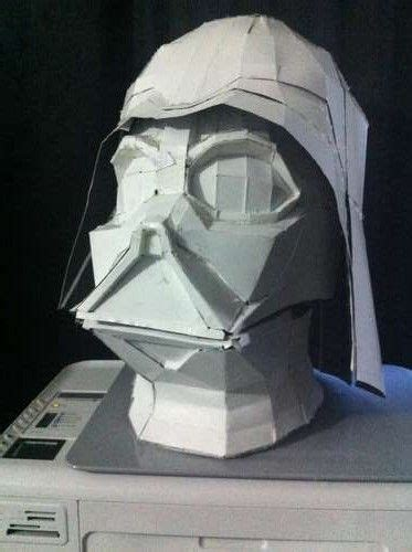origami darth vader helmet 17 best images about pepakura paper projects on