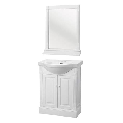 home depot bathroom vanity mirrors home decorators collection salerno 25 in w bath vanity in