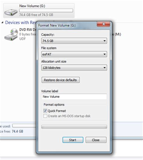 format exfat software what are the differences between ntfs fat32 and exfat