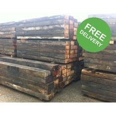 Railway Sleepers Free Delivery by Best 25 Reclaimed Railway Sleepers Ideas On