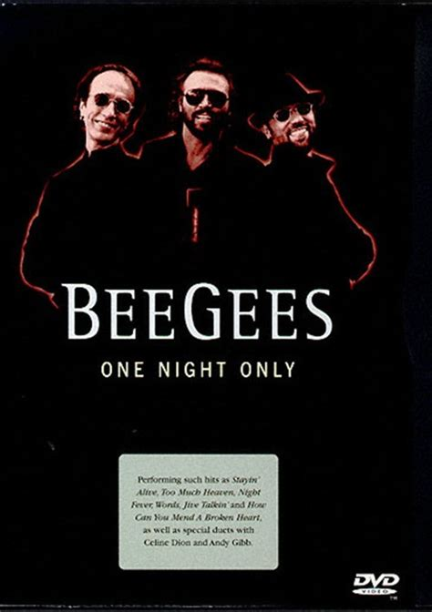 bee gees one 1997 bee gees one only dvd 1997 dvd empire