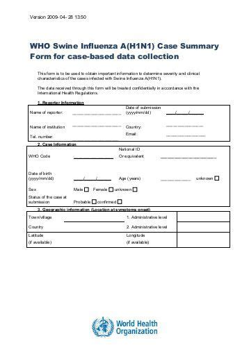 report form template clinical trials data collection tool in clinical trials report form