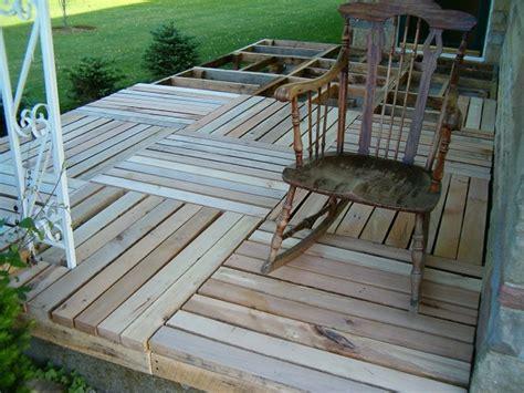 Building A Wooden Porch diy pallet wood front porch home design garden architecture magazine
