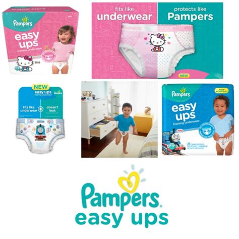 printable coupons pers easy ups tips to potty train with new pers 174 easy ups