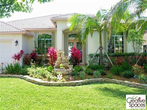 Front Yard Landscaping Ideas Florida South Florida Landscaping Ideas