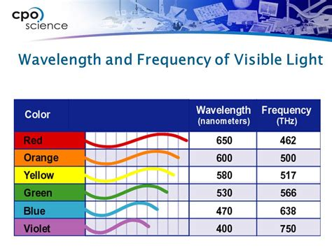 wavelength and frequency of light 25 2 the human eye the eye is the sensory organ used for