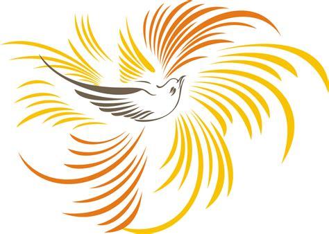 burung cendrawasih format vector logo lambang