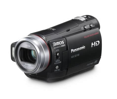 Panasonic Hd 100 Am panasonic hdc hs 100 eg k hd camcorder schwarz test