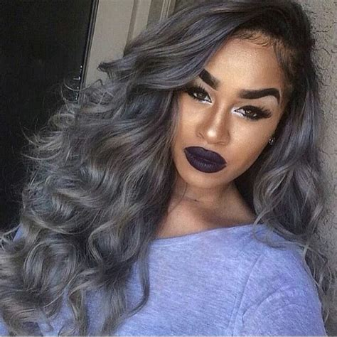 7 Tips For Colouring Grey Hair by 10 Hairstyles For 50 Gray Hair Black