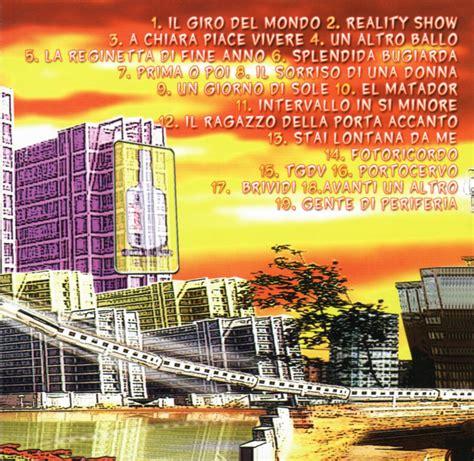 gemelli diversi reality show copertina cd gemelli diversi reality show inside