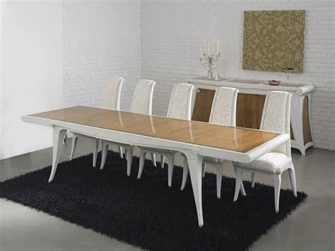 tavoli grandi in legno tavolo allungabile in legno grandi dimensioni idfdesign