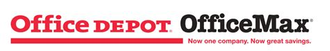 Office Depot Logo Office Depot Officemax Now One Company Great Savings