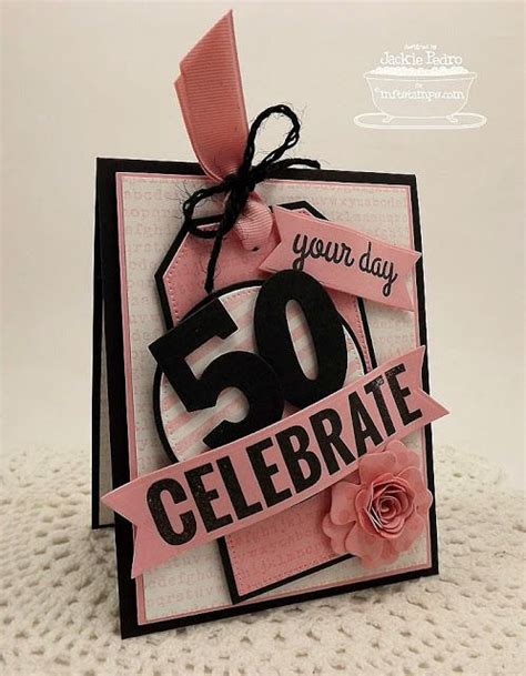 Handmade 50th Birthday Card Ideas - best 25 50th birthday cards ideas on 50