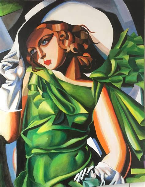 tamara de lempicka art new david aldus original quot young lady after tamara de