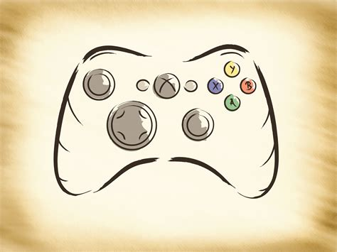 Drawing Xbox Controller by Joystick Clipart Xbox Logo Pencil And In Color Joystick