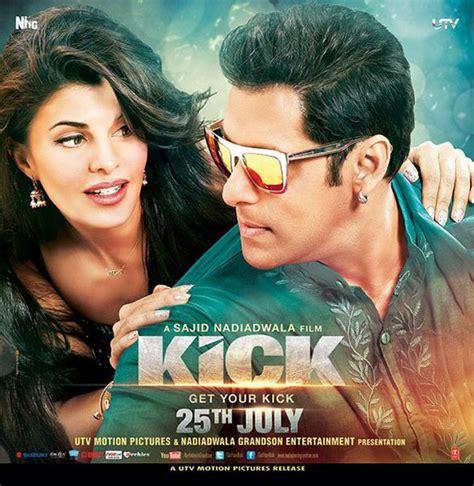 film bollywood tersedih 2014 kick new posters salman khan jacqueline fernandes look
